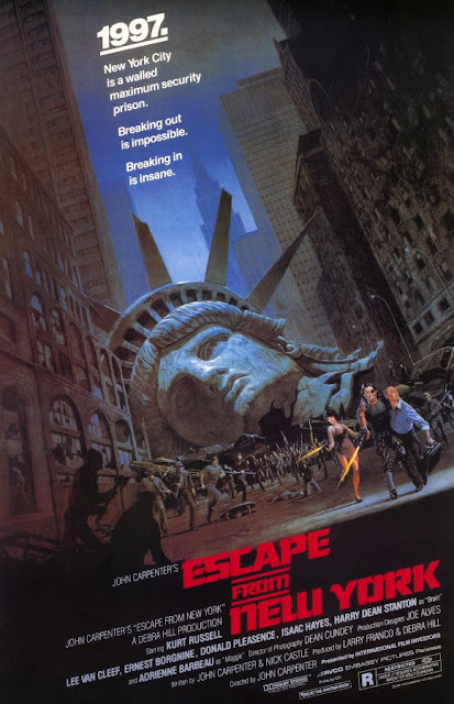 Signal Watch Tweet Alive! ESCAPE FROM NEW YORK! FRIDAY at 9:00 Central!