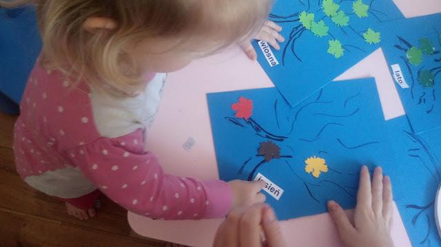nauka pór roku, metoda montessori, metoda domana