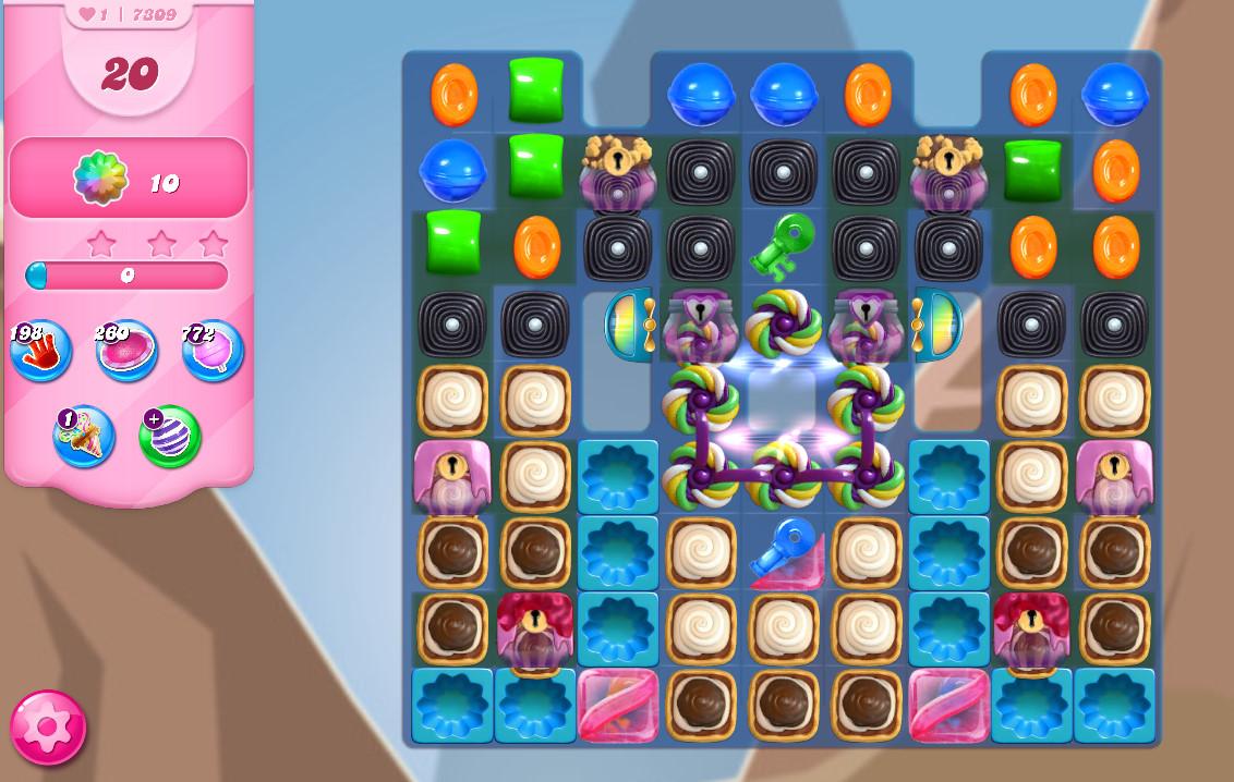 Candy Crush Saga level 7309