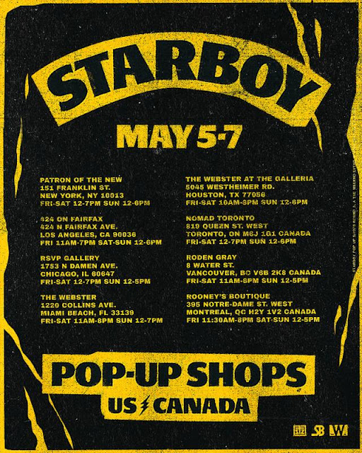 Starboy Fashion Shopping Tour Date