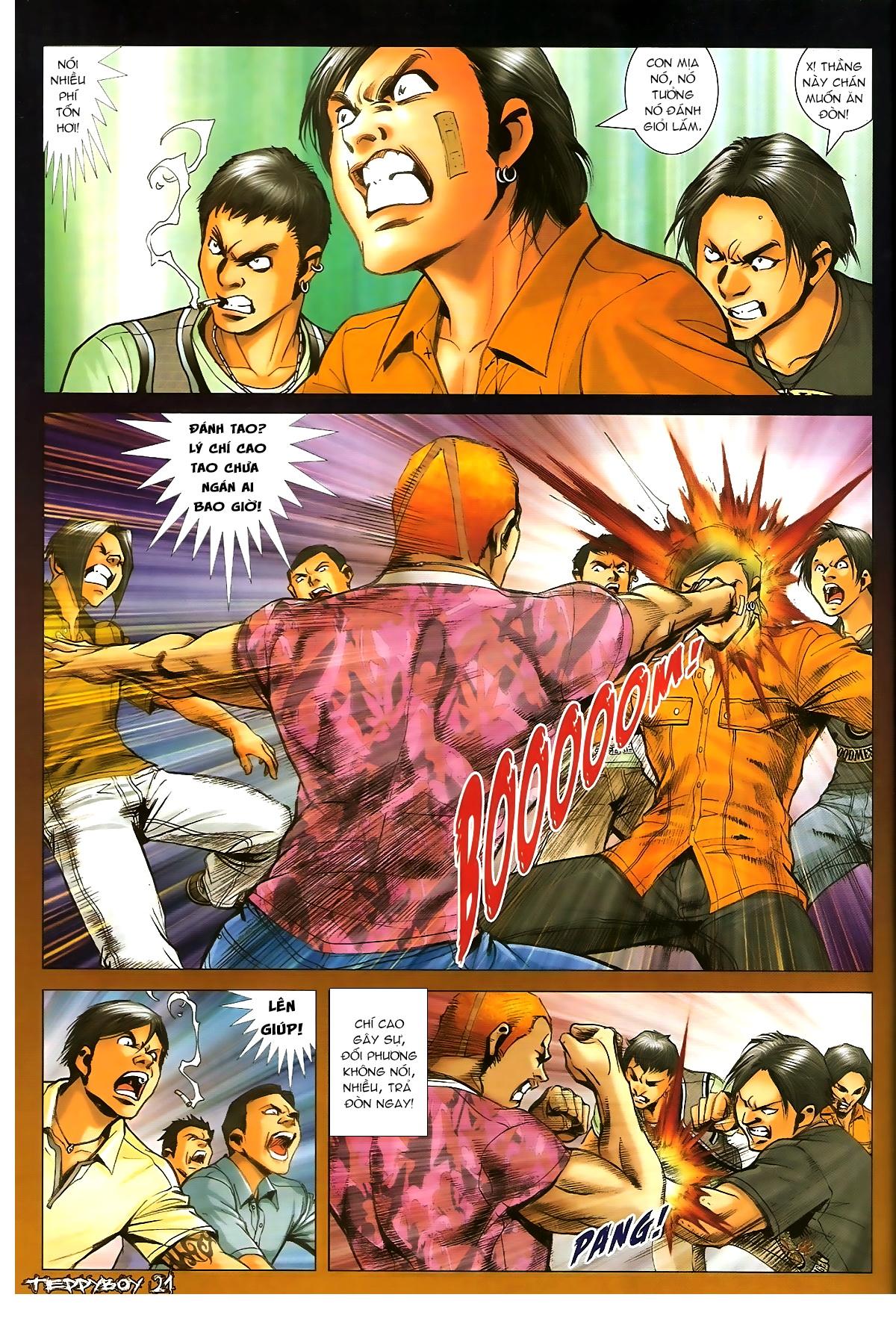 Người Trong Giang Hồ - Chapter 1347: Lý Chí Cao vs Sinh Tư - Pic 18