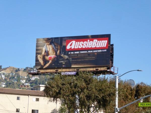 AussieBum 2017 underwear billboard
