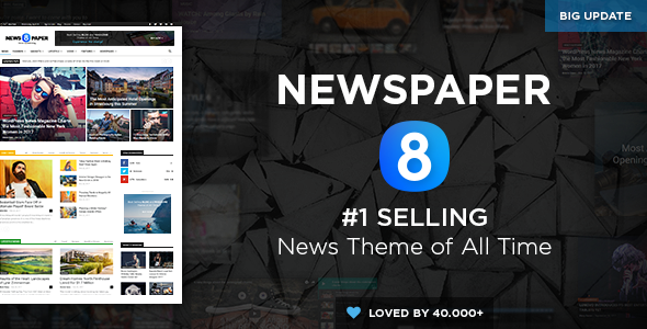 Best Newspaper WordPress Theme all time