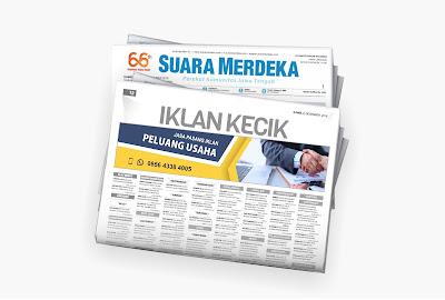 iklan peluang usaha koran suara merdeka