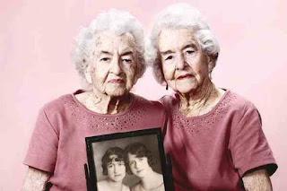 Centenarian twins