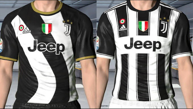 buy online 86fa5 fa7bc Juventus Leaked Kit 2017-2018 - PES 2017 - PATCH PES | New ...