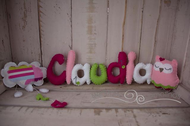Nombre nube de lluvia y búha - Claudia