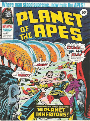 Marvel UK, Planet of the Apes #77