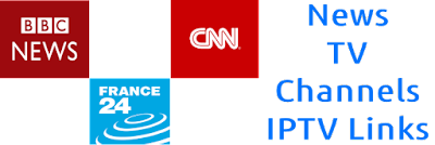 SKY NEWS TV Channels BBC France24 EARTHTV M3u8