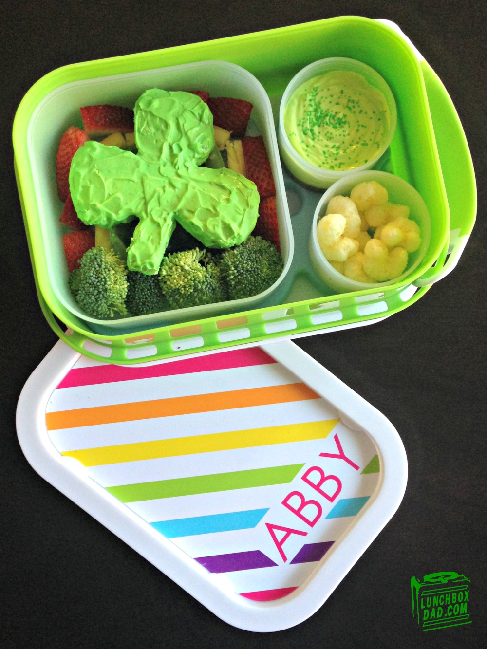 St. Patrick's Day kid's lunch
