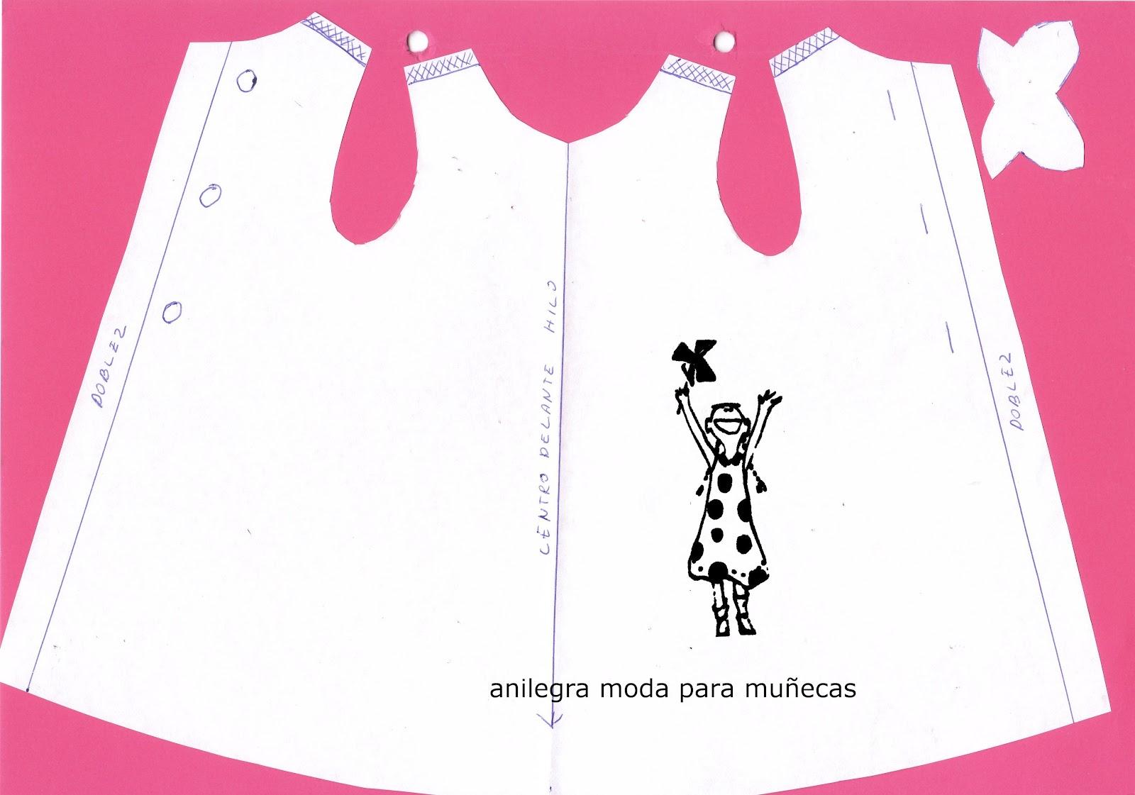 Asombroso Patrones Libres Ropa De La Muñeca Barbie Para Coser Regalo ...