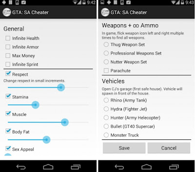 JCheater: San Andreas Edition V2.3 APK