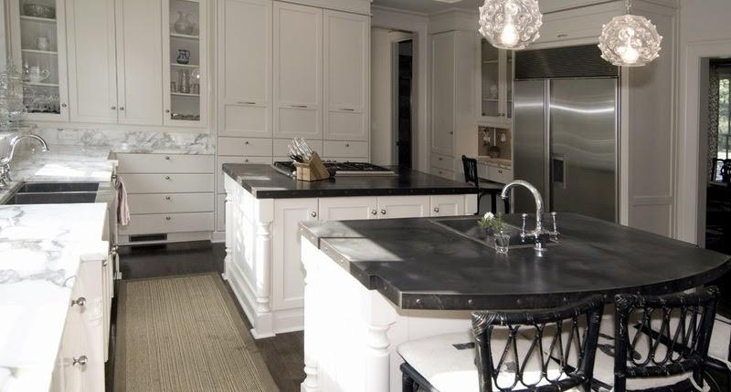 Hogares frescos materiales para encimeras de cocinas las for Mejor material para encimeras de cocina