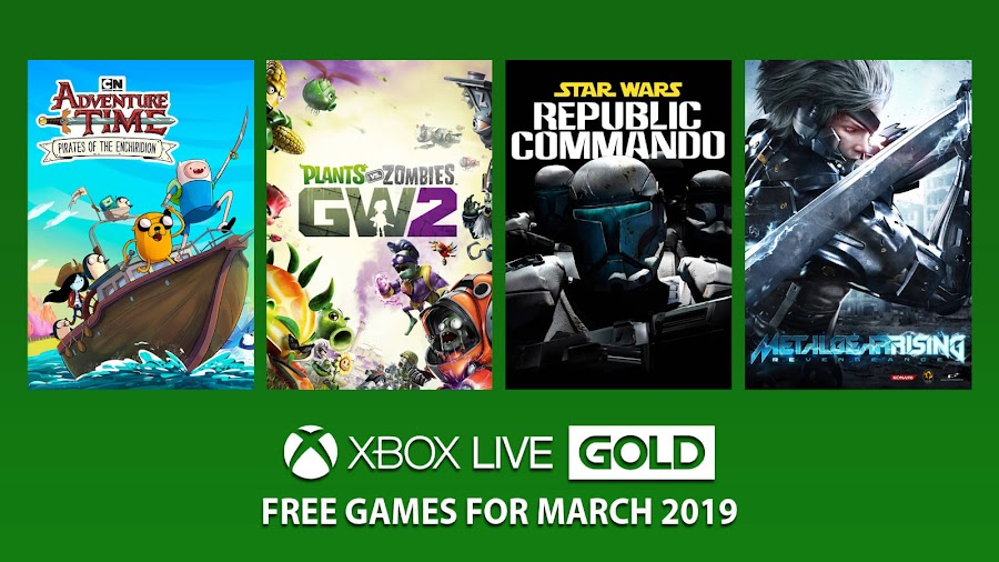 xbox live gold free games march 2019