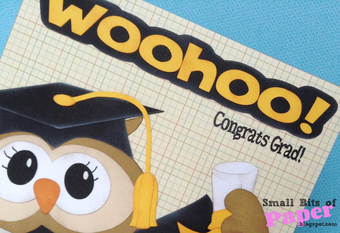 small bits of paper congrats grad