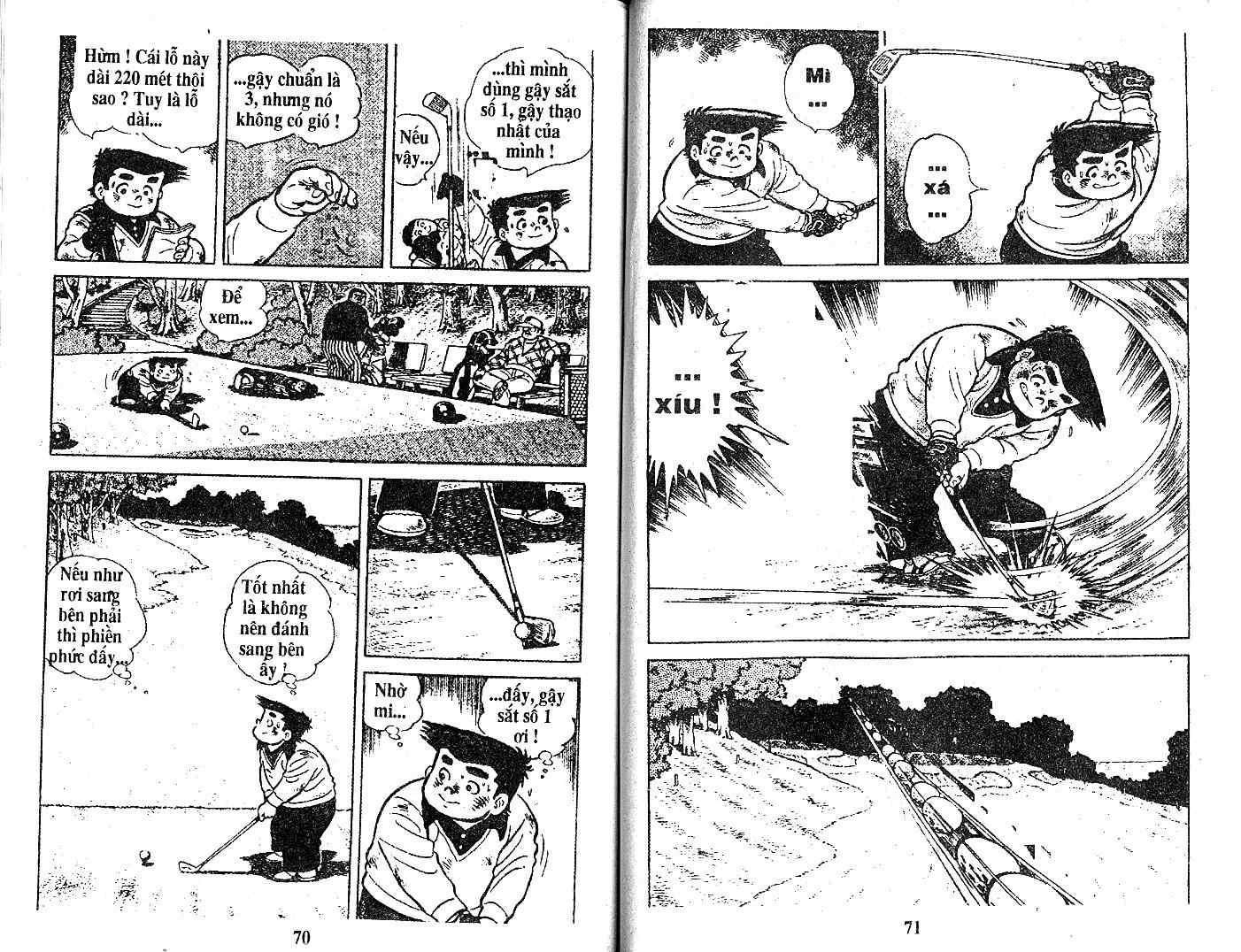 Ashita Tenki ni Naare chapter 18 trang 33