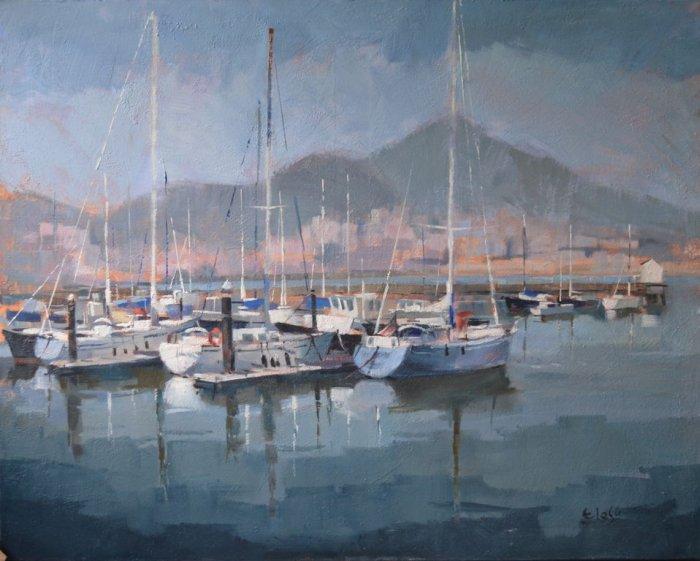Испанский художник. Enrique Lopez Suarez - ELOSU