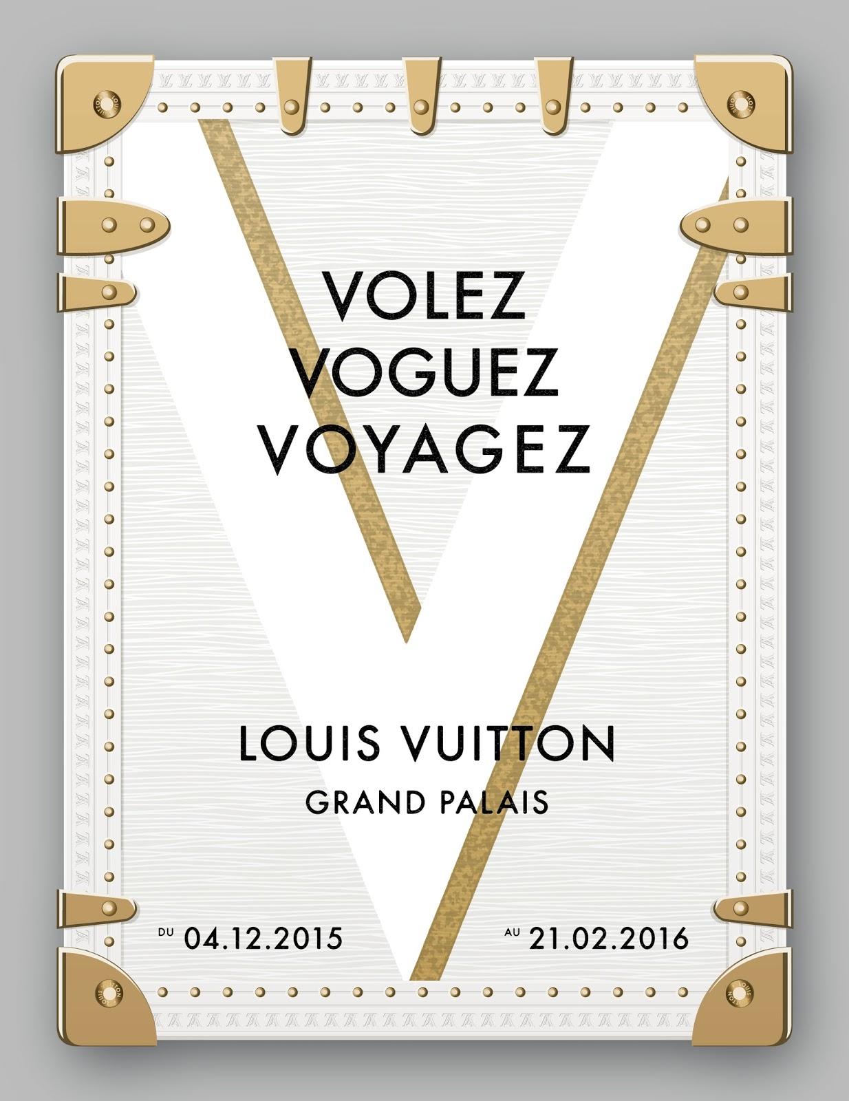 """2034bcb589 Gar&Mann:L: """"Volez, Voguez, Voyagez – Louis Vuitton"""""""
