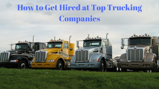 best trucking companies for inexperienced drivers
