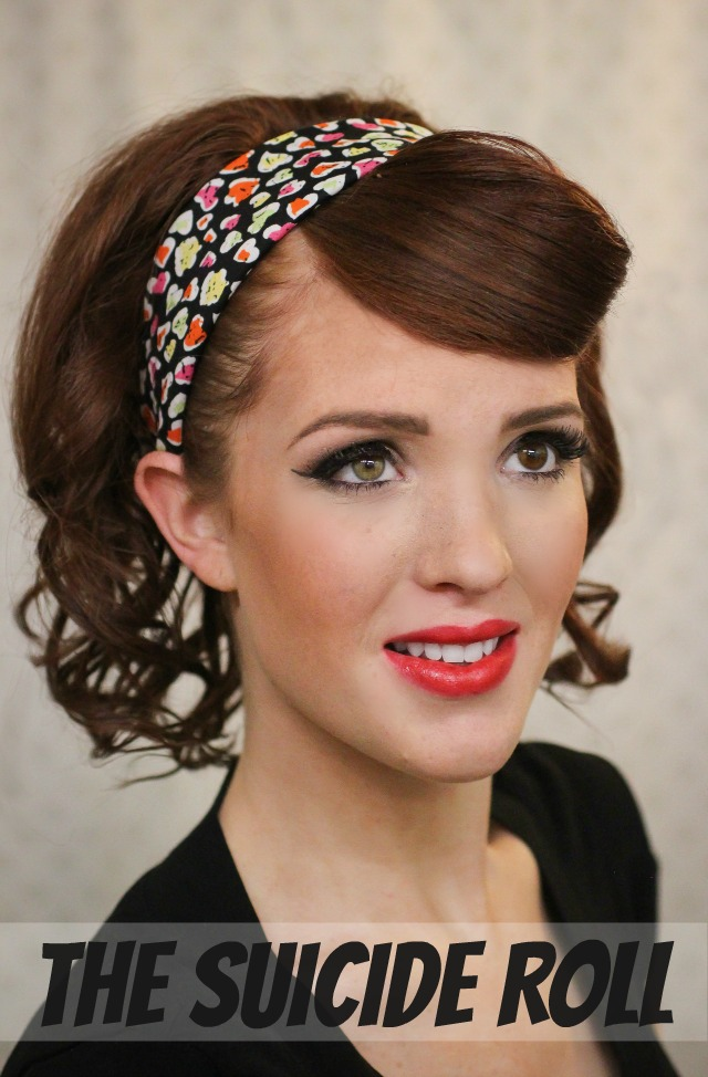 12 Superbe Coiffure Pin Up Diy The Suicide Roll