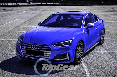 2016 Audi S5 Blue