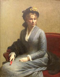 Charlotte Dubourg par Fantin-Latour
