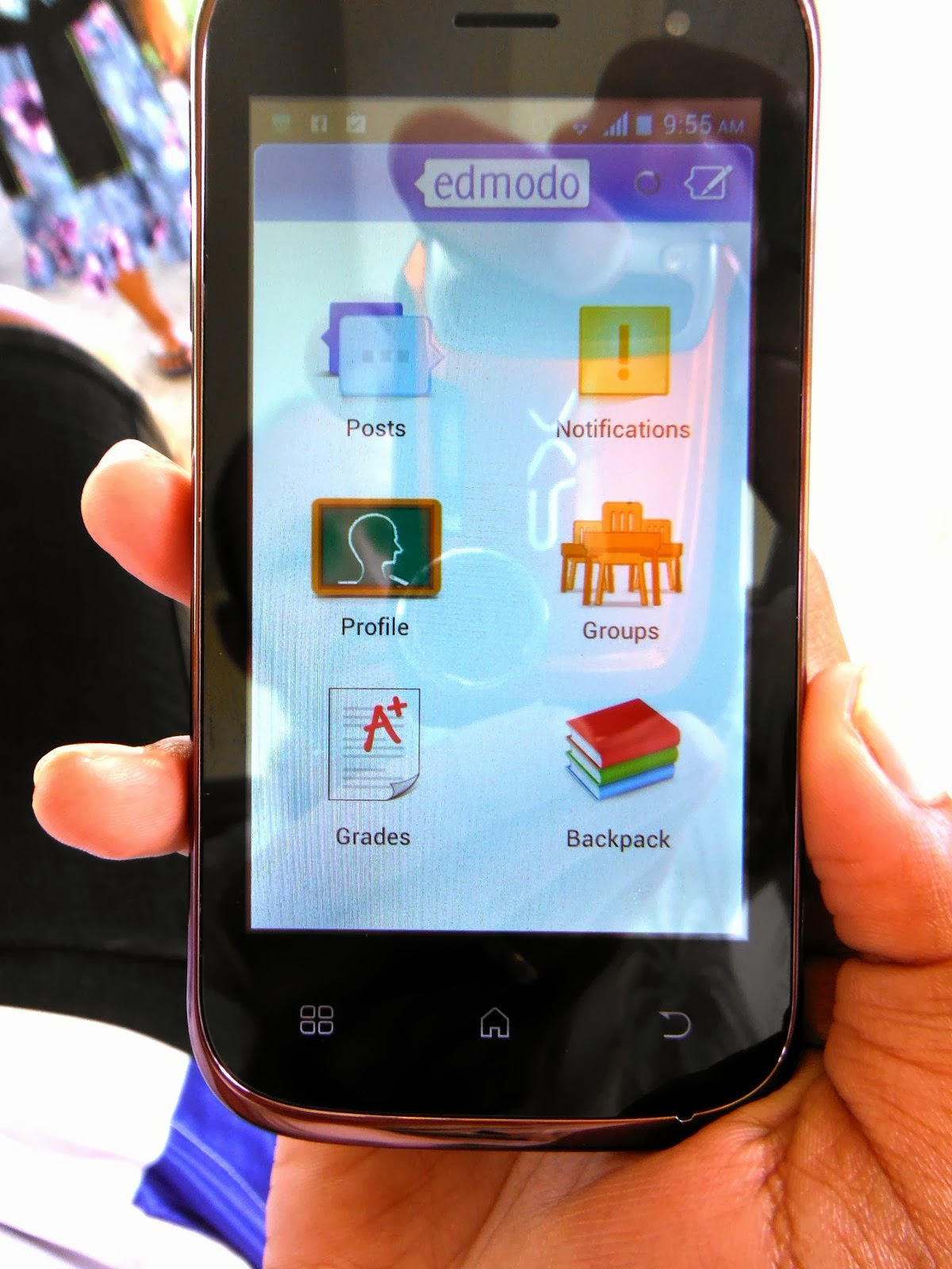 Edmodo on Android