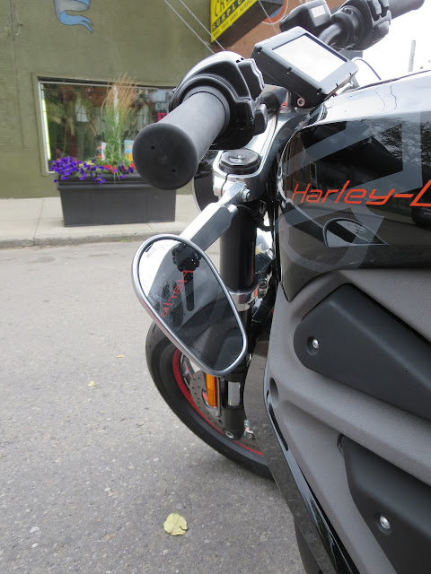Harley-Davidson LiveWire Useless Mirrors