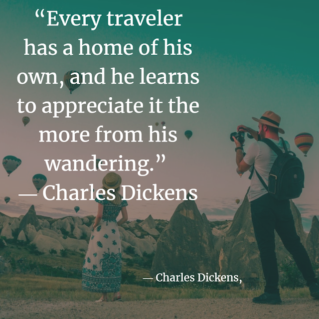 Charles dickens about travelling