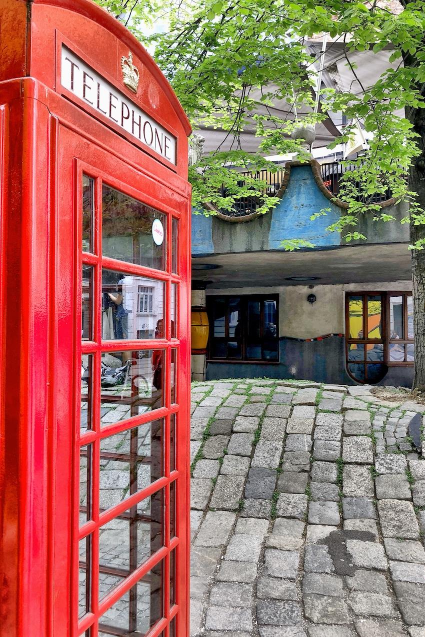 Englische Telefonzelle Kegelgasse
