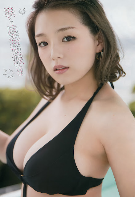 篠崎愛 Ai Shinozaki Young Champion No 14 2017 Pics