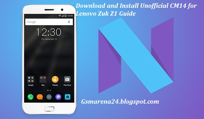 Download and Install Unofficial CM14 for Lenovo Zuk Z1 ...