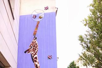 Sunday Street Art : Mosko et associés pour l'Asso le Ratrait - rue du Retrait - Paris 20