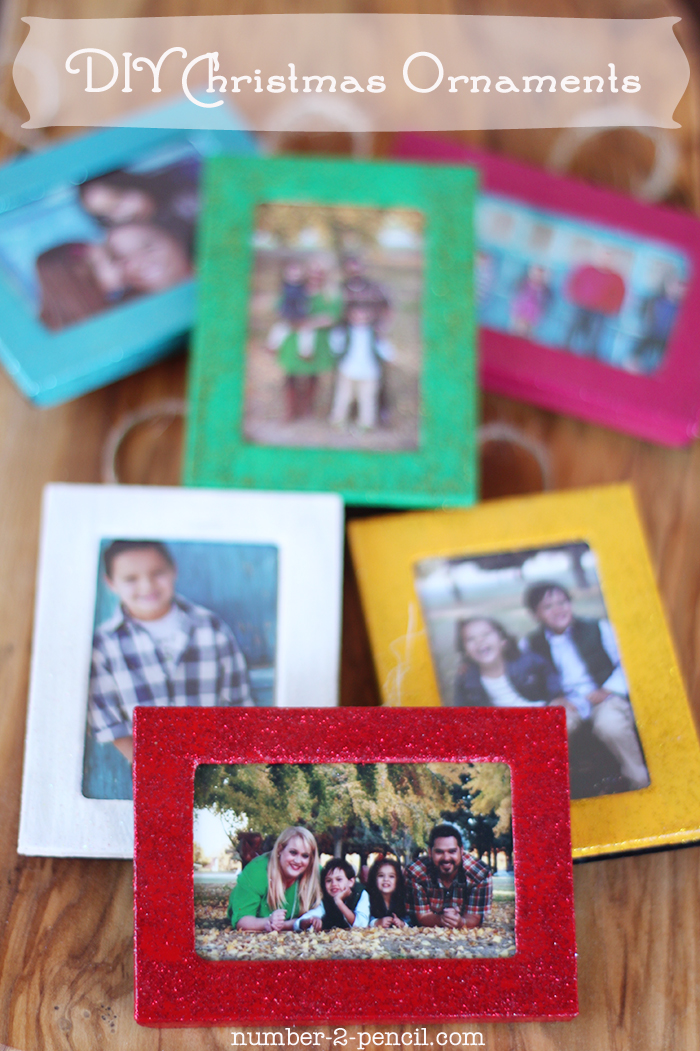 Christmas Tree Ornaments Picture Frames : Make diy holiday ornaments