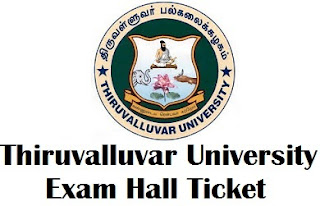 Thiruvalluvar University Hall Ticket 2017