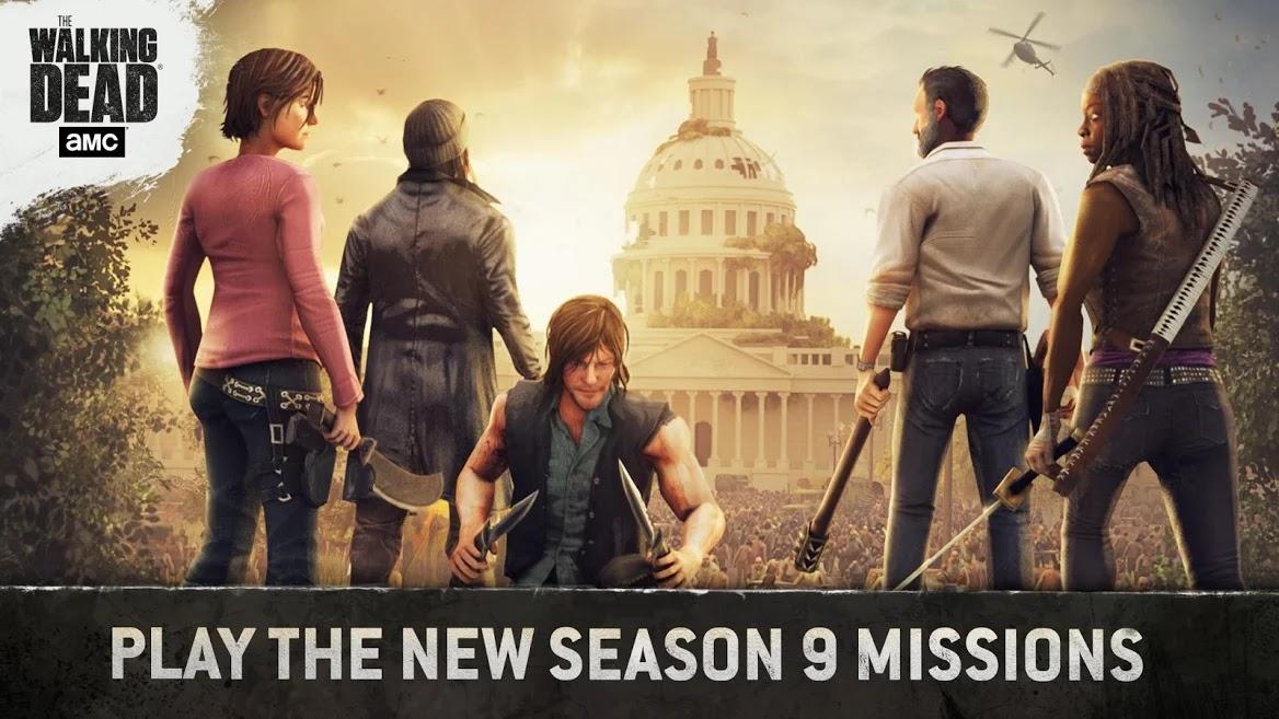 تحميل لعبة The Walking Dead No Man's Land برابط مباشر للاندرويد والايفون