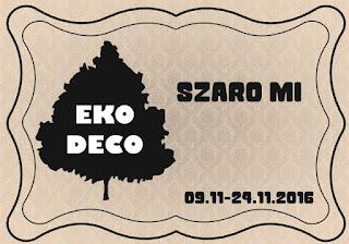 wyzwanie ECO-DECO Szaro mi