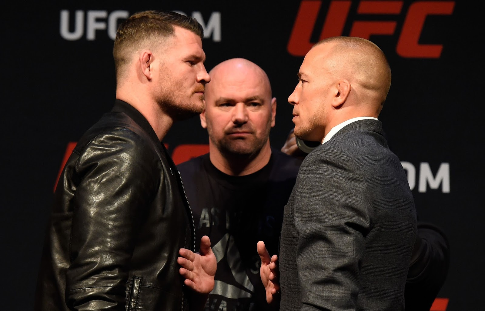 MICHAEL BISPING VS. GEORGES ST PIERRE 4