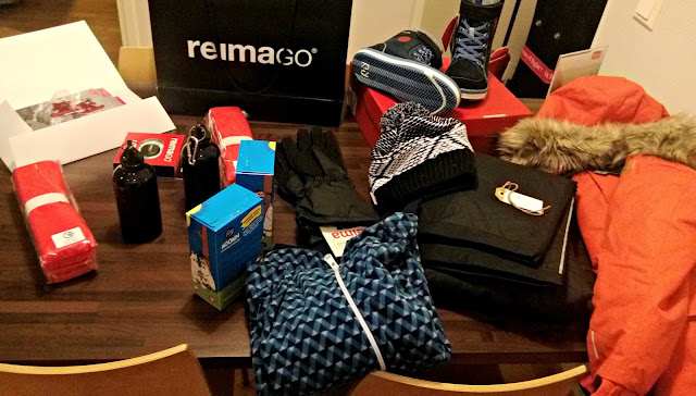 A selection of ski wear and accessories from Reima