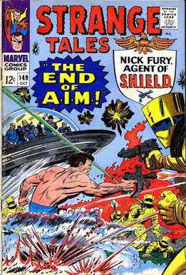 Strange Tales #149, SHIELD, the end of AIM