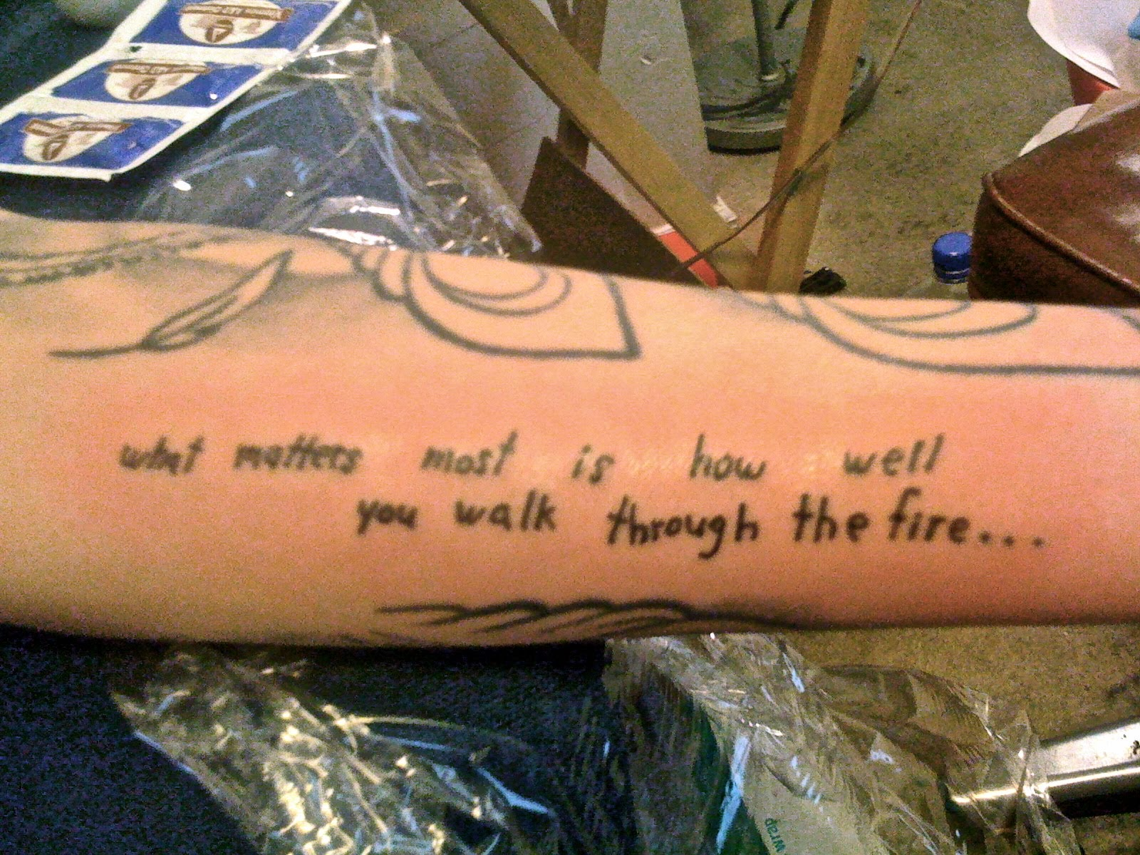 Inner Forearm Text Tattoos: Most Beautiful Forearm Tattoos For Men