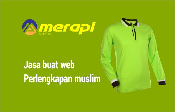 jasa buat website baju muslim murah