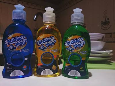 Bubble Man Dishwashing Liquid Product Review