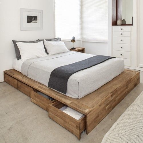 Platform Bed With Drawers 3 Main Benefits Of Having Platform Bed With Drawers | Best