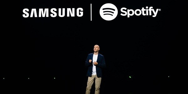 سامسونج تعقد شراكة مع Spotify