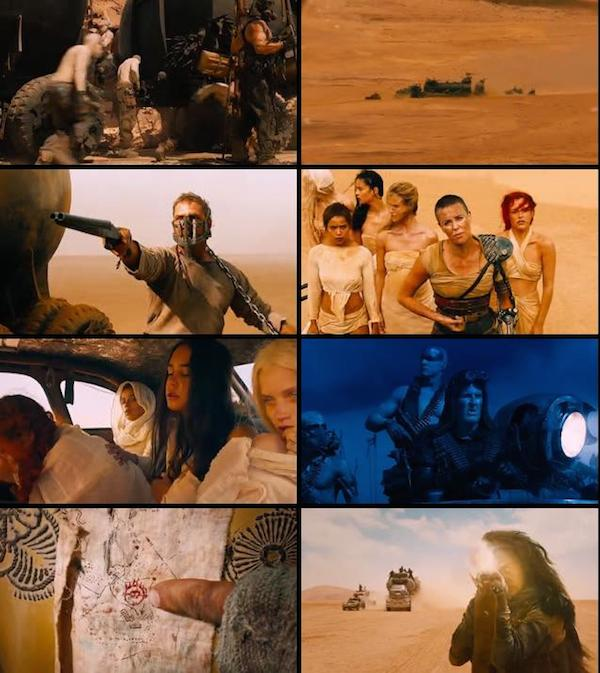 Mad Max Fury Road 2015 Dual Audio Hindi BRRip 480p