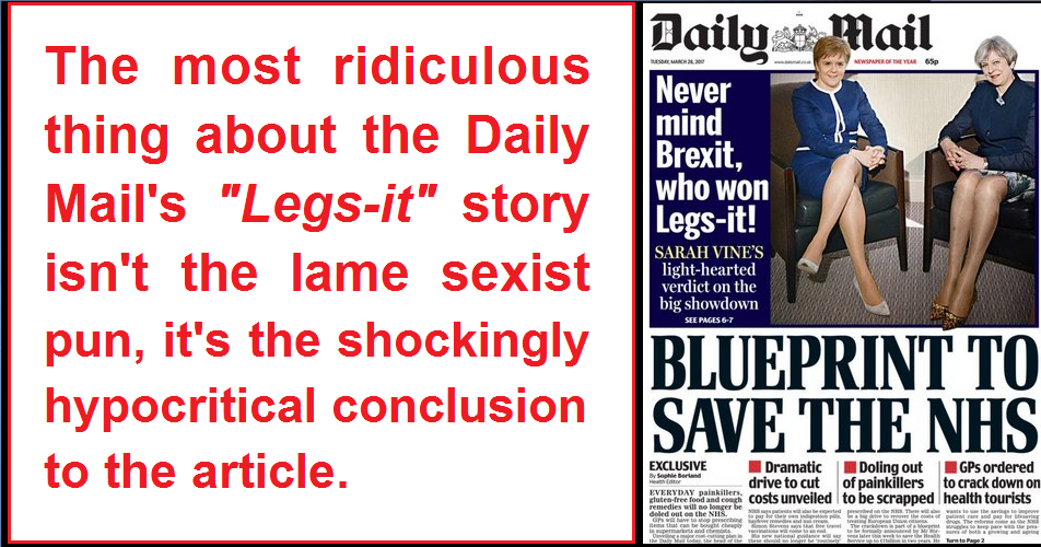The lame sexist pun isnt even the most ridiculous thing about the the lame sexist pun isnt even the most ridiculous thing about the legs it article malvernweather Images