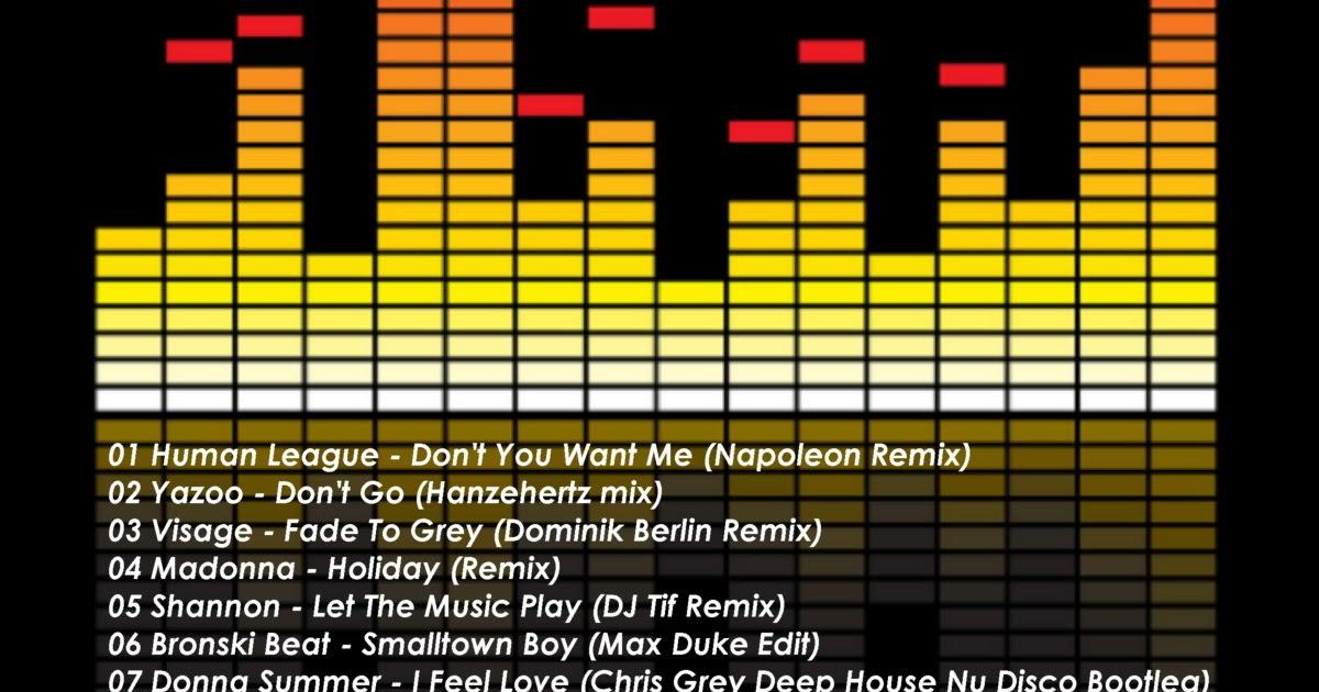 RETRO DISCO HI-NRG: 80s Synth Heaven - Retro Dance Remix