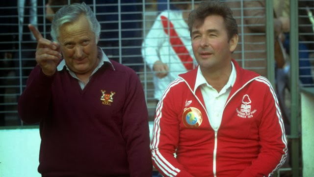 Clough y Taylor al frente del Nottingham Forest