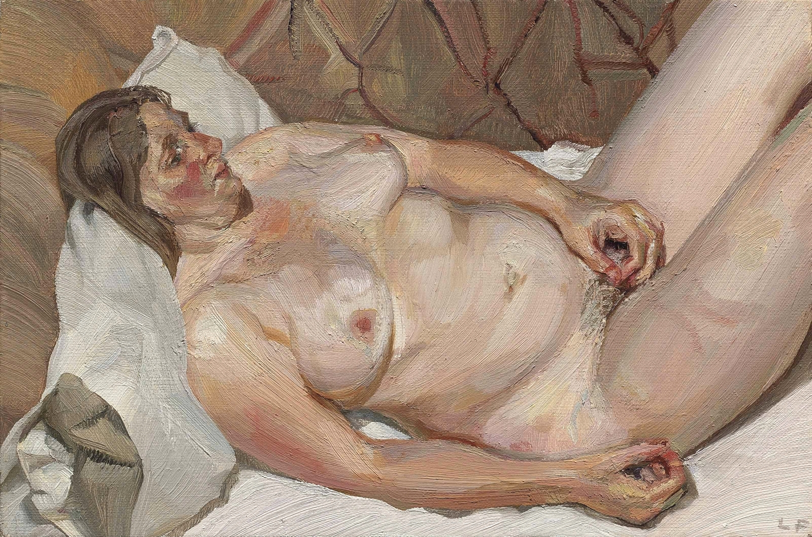 Can Lucian freud naked portrait are